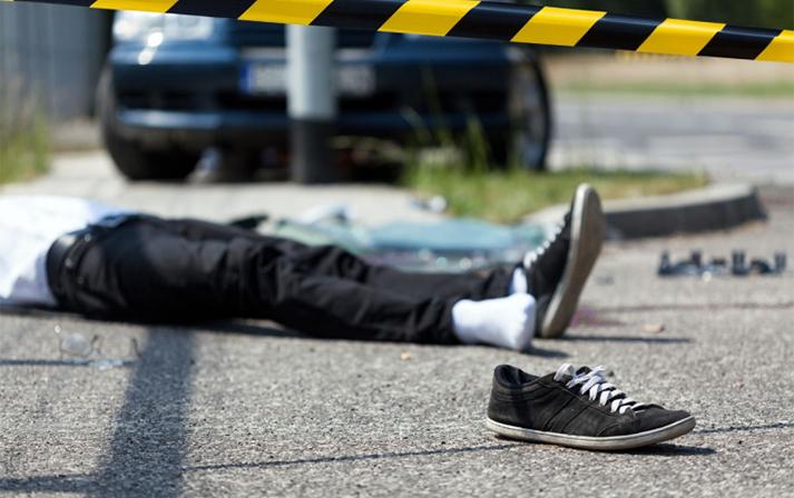 Füzulidə avtomobillə vurduğu piyadanı bıçaqlayan sürücü saxlanıldı